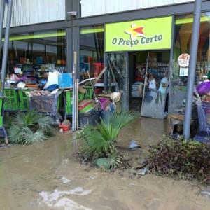Cidade de Lobito e a província de Benguela foram duramente afetadas pelas chuvas. Crédito: Reprodução/Instagram