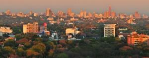 Vista geral de Assunção. Crédito: Zenoura/Prefeitura de Assunção