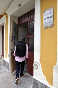Centro de Acolhida da Prefeitura fica na rua Japurá, na Bela Vista. Crédito: Sefras