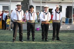 Jorge se apresenta com o grupo Acuarela Paraguaya, que considera sua segunda casa. Crédito: Eva Bella
