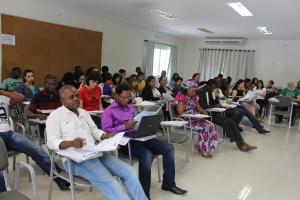 Cerca de 60 pessoas, de diversas nacionalidades, participaram do curso. Crédito: CDHIC