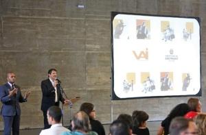 Apresentação sobre o Programa VAI, da Secretaria de Cultura. Crédito: Fábio Arantes/Secom