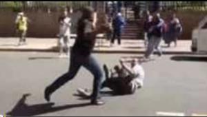 Migrantes têm sido alvo de violência na África do Sul. Crédito: Reprodução/YouTube