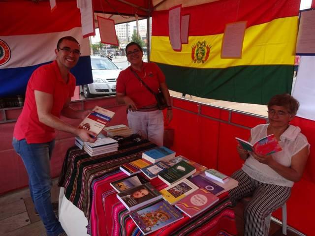 Projeto promoveu intercâmbio e trocas entre autores e leitores. Crédito: Víctor Gonzales