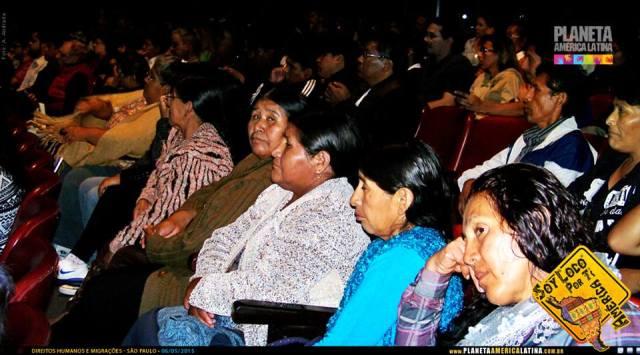 Cerca de 250 imigrantes de 20 nacionalidades marcaram presença no evento. Crédito: Planeta América Latina