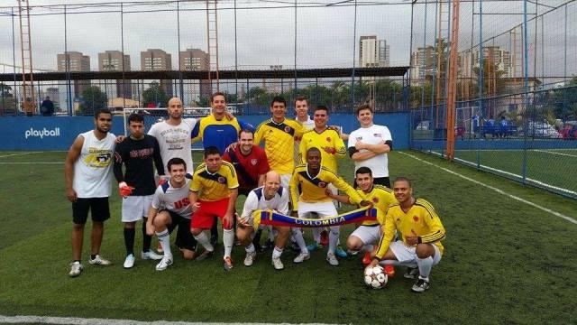 Times fizeram amistosos preparatórios para a nova edição da Copa Gringos. Crédito: Divulgação/Copa Gringos