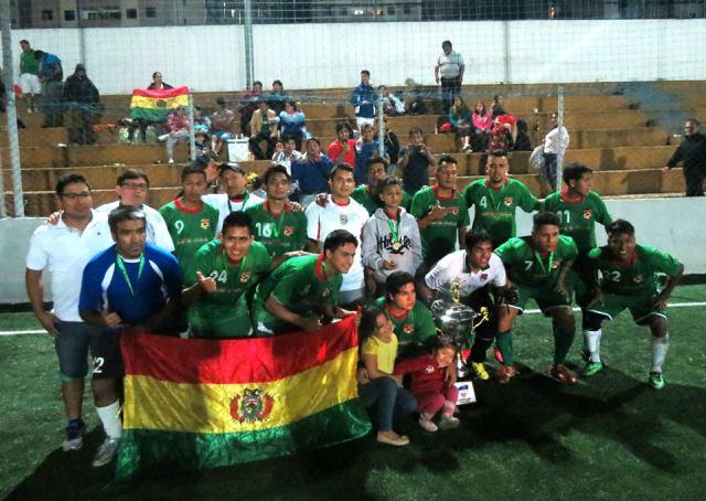 Bolívia é a primeira bicampeã das Copas Gringos. Crédito: Festival Copa Gringos