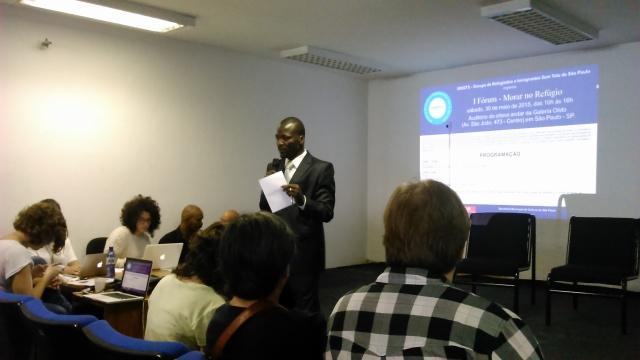 Fórum gerou um manifesto com propostas para superar dificuldades enfrentadas pelos refugiados. Crédito: Géssica Brandino