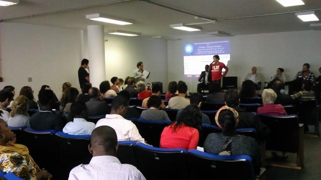 Problemas para integração dos refugiados à sociedade foram debatidos em fórum em SP. Crédito: Géssica Brandino
