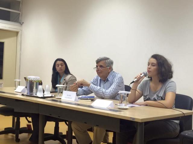 """IRI-USP recebeu o debate """"Mediterrâneo: um mar de hipocrisia"""". Crédito: Educar para o Mundo"""