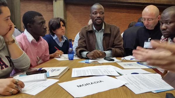 Grupos de trabalho buscaram soluções para os entraves na questão do refúgio. Crédito: ACNUR