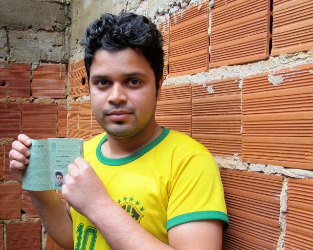 Masud Rana, 22, de Bangladesh