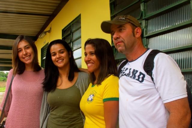 Professores voluntários