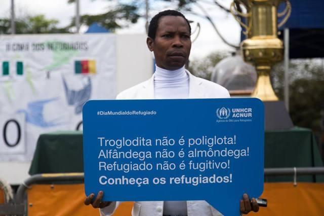 Evento ajuda a derrubar estereótipos em geral associados aos refugiados. Crédito: Divulgação