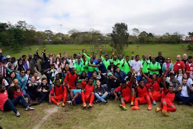 Copa dos Refugiados está de volta e terá sua segunda edição a partir deste sábado (01/08). Crédito: Divulgação