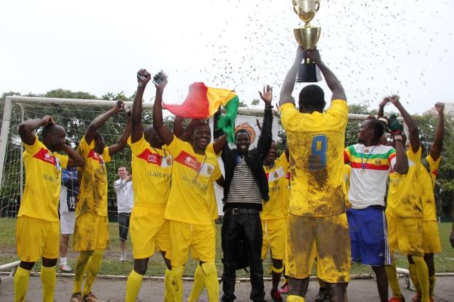 Time do Mali fica com o título do Campeonato Multicultural promovido pelo Adus. Crédito: Eva Bella