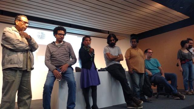 Atores e diretores dos curtas debatem com o público. Crédito: Rodrigo Borges Delfim