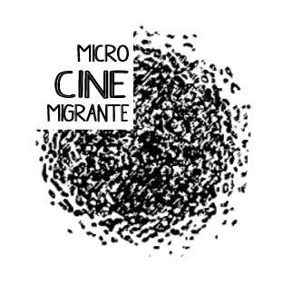 Logo do Microcine Migrante. Crédito: Microcine Migrante