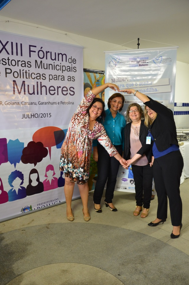 Fórum em Ipojuca (PE) debateu o tráfico de mulheres e formas de prevenção. Crédito: Ivan Nascimento