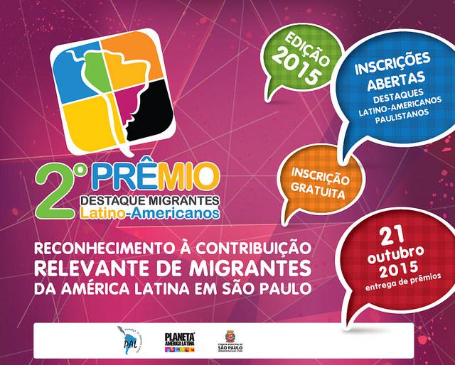 Prêmio reconhece e destaca contribuições de imigrantes latino-americanos para São Paulo. Crédito: Divulgação