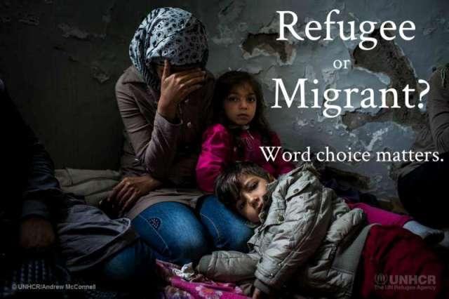 Refugiado ou migrante? A escolha do termo certo é mais importante do que parece. Crédito: ACNUR