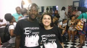 Registro do apoio do Site Caminhos do Refúgio à campanha de sensibilização do GRIST