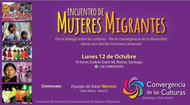 Convite para o evento que acontece nesta segunda (12), em Santiago (Chile). Crédito: Divulgação