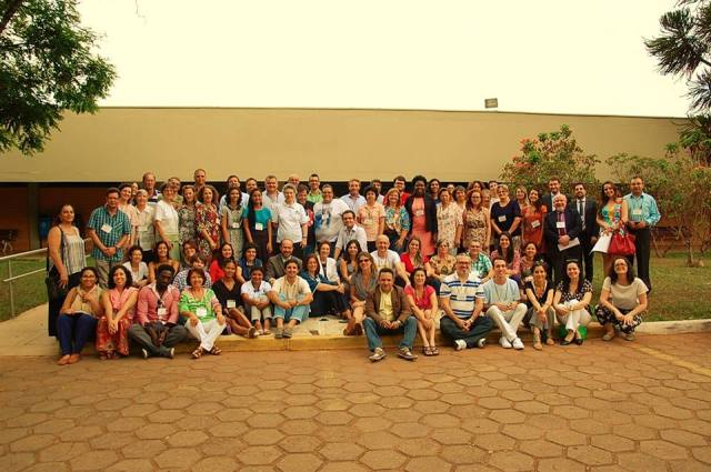 Foto oficial do XI Encontro da Rede de Solidariedade, que aconteceu em Brasília. Crédito: Aline Maccari/IMDH