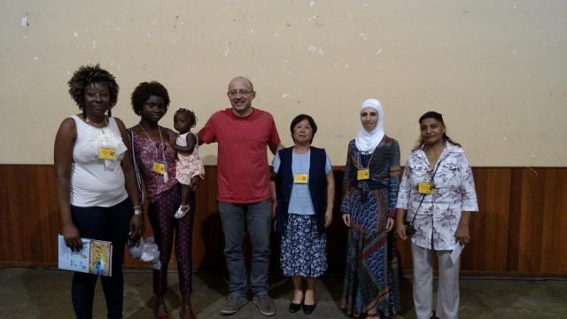 Mulheres migrantes foram as protagonistas do Vozes e Olhares Cruzados de 2015. Crédito: Rodrigo Borges Delfim