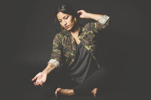 A musicista franco-chilena Ana Tijoux. Crédito: Divulgação/Lollapalooza Chile