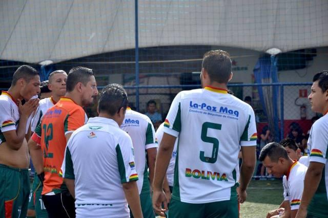 Bolívia ficou com o vice da Liga Gringos, mas continua como uma das grandes forças do torneio. Crédito: Copa Gringos
