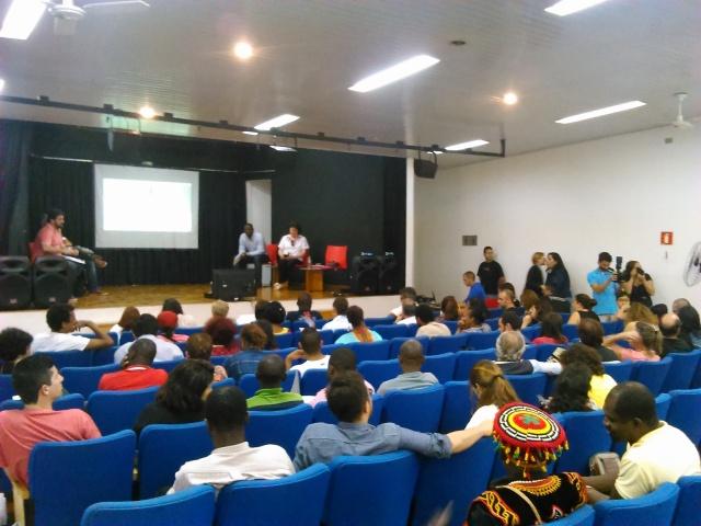 Evento marcou o lançamento da sétima edição do Fórum, que será em São Paulo em julho de 2016. Crédito: Géssica Brandino/MigraMundo