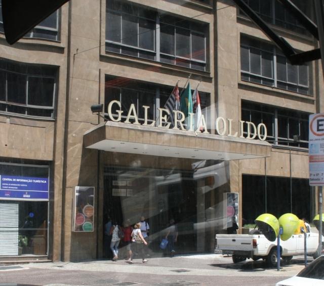 Galeria Olido, em São Paulo, onde fica a Secretaria Municipal de Cultura. Crédito: SPTrans