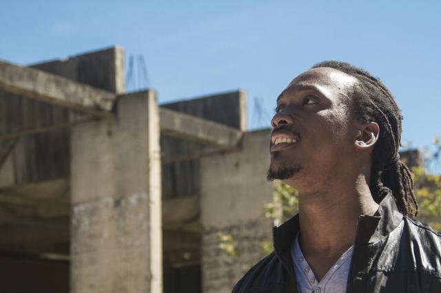 Mouamar Dinis Sequeira, de Guiné-Bissau. Crédito: Erica Suelen de Souza