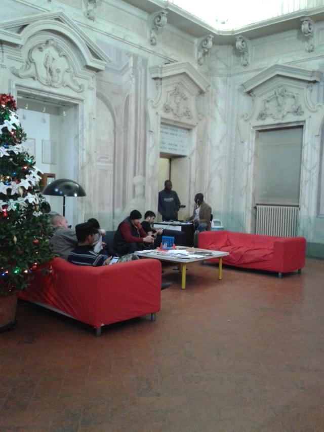 Hostel em Firenze tem imigrantes entre seus funcionários. Crédito: Carla Alexsandra Ribeiro