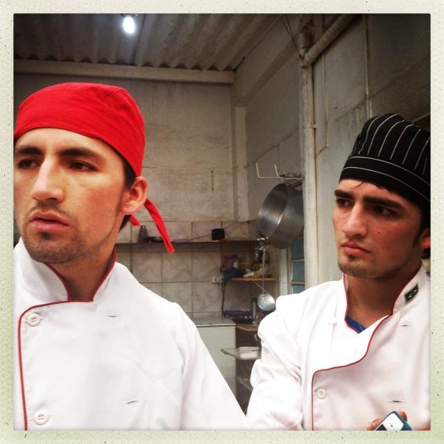 Os irmãos Hosler e Michael, fundadores do Rio Mar. Crédito: Eva Bella