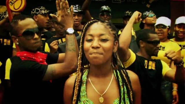 O grupo colombiano ChocQuibTown, com a canção De Donde Vengo Yo. Crédito: Reprodução