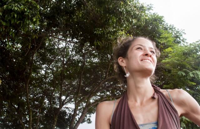 Natalie Nafti, de Dortmund (Alemanha) para o interior de Goiás. Crédito: Erica Suelen de Sousa/Projeto Guadalupe