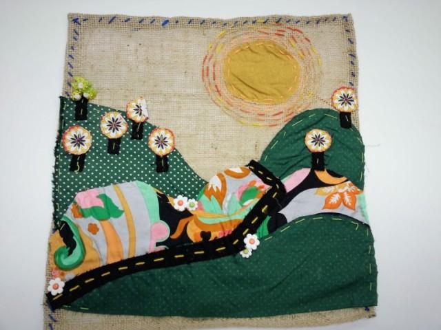 Exposição de arpilleras fica no Museu da Imigração de São Paulo de 13 de fevereiro a 15 de maio. Crédito: Divulgação