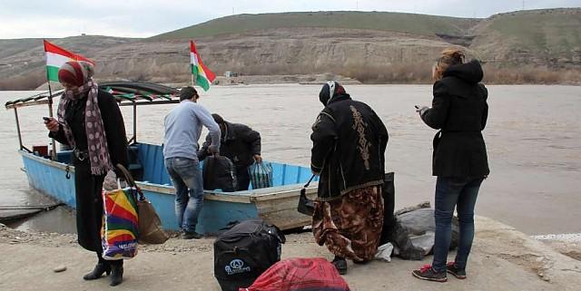 Refugiados sírios que estavam no Iraque retornam ao país, mesmo com a guerra. Crédito: ACNUR