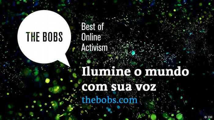Usuários de todo o mundo podem votar no The Bobs em ações que promovem a liberdade de expressão e da sociedade civil. Crédito: Divulgação
